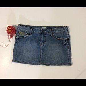 Dresses & Skirts - No Boundries woman's 11 distressed denim skirt